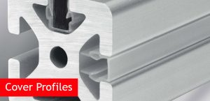 Cover Profiles For Grooved Aluminium