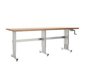 Custom made ergonomic workbenches
