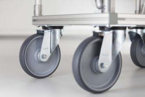D30 Feet and Castor Wheels