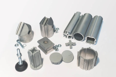 D30 Sample Kit for Round Aluminium Material Handling Products
