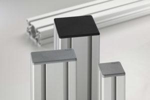 End Caps For Aluminium Profiles item