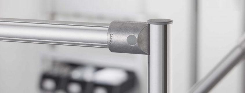 Fasteners for D30 round aluminium