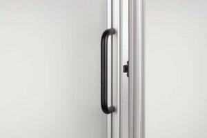 Door handles for t-slot aluminium