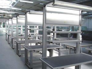Ergonomic Metal Tables