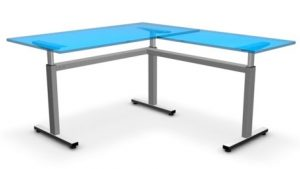 Three Legged Height Adjustable Table