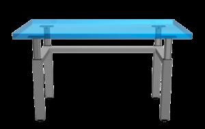 Four Legged Height Adjustable Table
