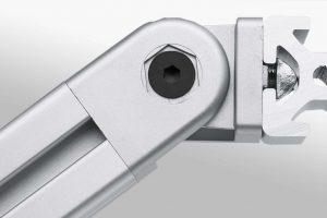 Heavy Duty Hinges for Aluminium Profiles