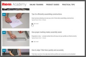 Item Academy In Depth Training and Practical Tips