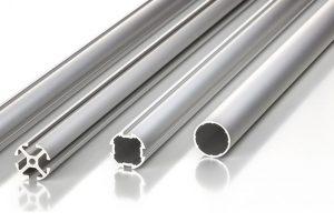 Round tube aluminium profiles