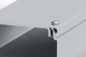 Aluminium Conduit Profile Lids