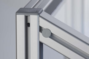 Mitre Fastener and aluminium profile item