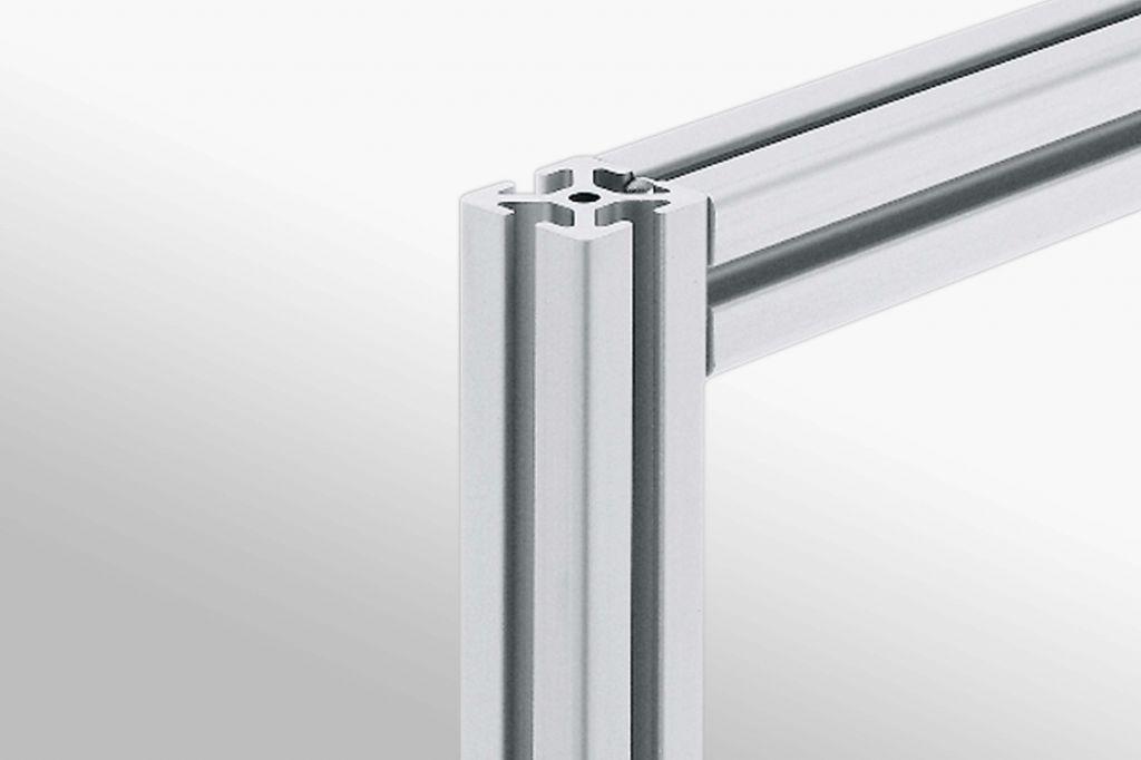 Aluminium 30mm 6mm grooves