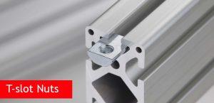 T-slot Nuts for Aluminium Extrusions