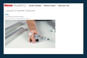 The Item Academy Hinge 8 40x4