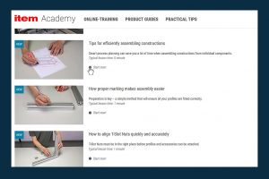 The Item Academy In Depth Training and Practical Tips