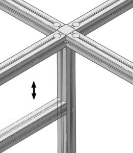 Universal Fastening Connection movable