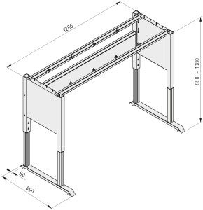 Base structure for workbench