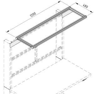 Overhead Frame for workbench