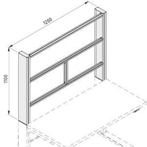 Vertical Frame on Workbench