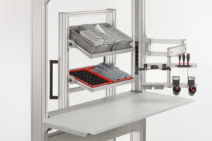 Workbenches for ergonomic success with item